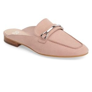 BP nude/pink slip on loafers